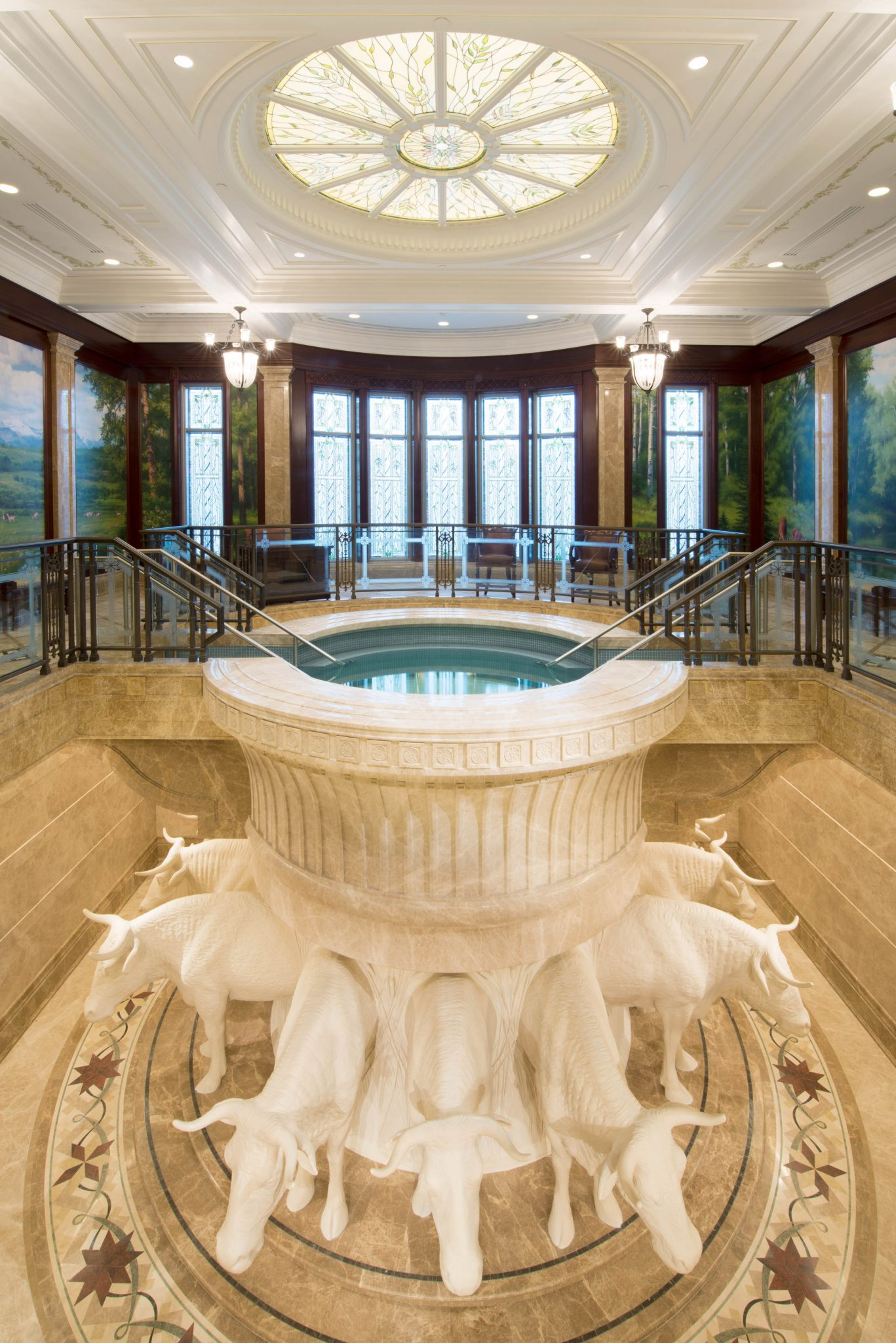 Photos first look inside the payson utah temple lds daily for Inside pictures